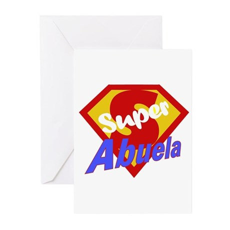 Super Abuela Greeting Cards (Pk of 10)