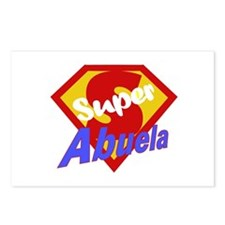 Super Abuela Postcards (Package of 8)