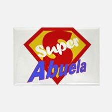 Super Abuela Rectangle Magnet