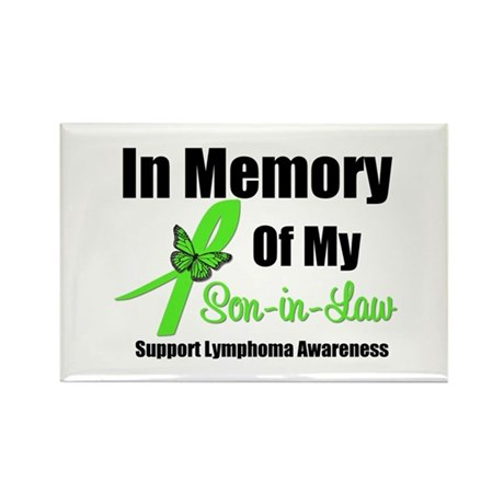 In Memory of My Son-in-Law Rectangle Magnet