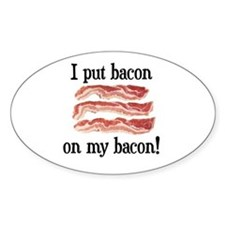 Bacon Lovers Oval Decal
