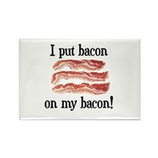 Bacon Lovers Rectangle Magnet