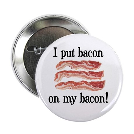 "Bacon Lovers 2.25"" Button"