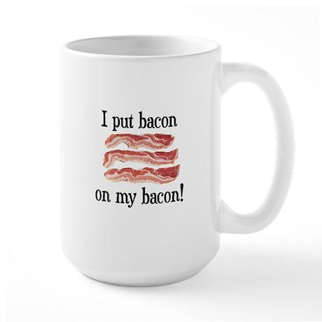 Bacon Lovers Large Mug