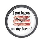 Bacon Lovers Wall Clock