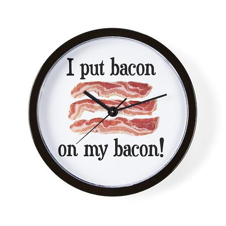 Bacon Lovers Wall Clock