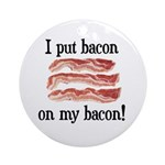 Bacon Lovers Ornament (Round)