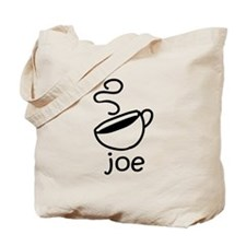 Java Joe Coffee Cartoon Tote Bag