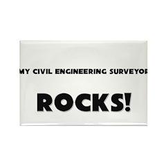 MY Civil Engineering Surveyor ROCKS! Rectangle Mag
