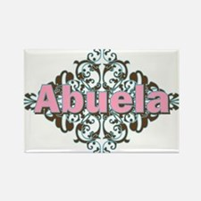 Abuela Spanish Crest Rectangle Magnet