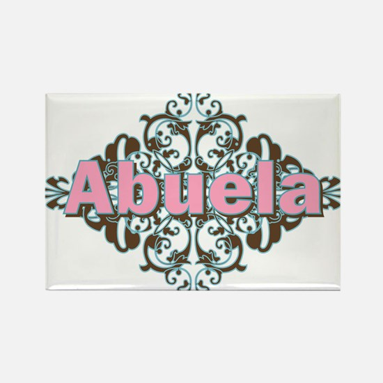 Abuela Spanish Crest Rectangle Magnet
