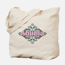 Abuela Spanish Crest Tote Bag