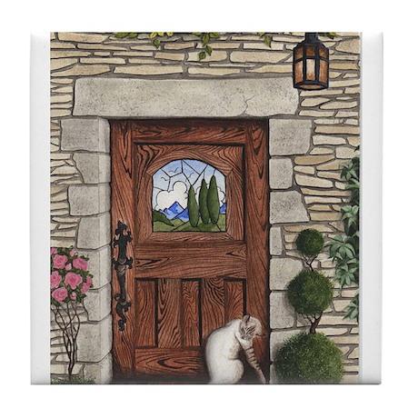 Craftsman Door Tile Coaster