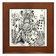 Queen of Hearts Framed Tile