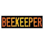 Beekeeper Stamp Bumper Sticker