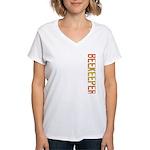 Beekeeper Stamp Women's V-Neck T-Shirt