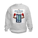 Plastic Pancreas Kids Sweatshirt
