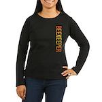 Beekeeper Stamp Women's Long Sleeve Dark T-Shirt
