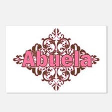 Abuela Spanish Crest Postcards (Package of 8)