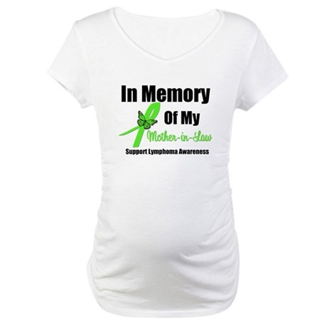 In Memory Mother-in-Law Maternity T-Shirt