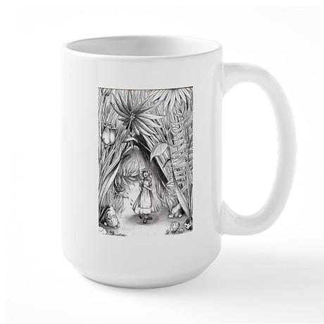 Alice in the Garden Large Mug