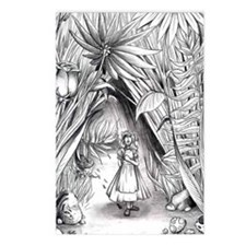 Alice in the Garden Postcards (Package of 8)
