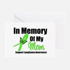 In Memory of My Mom Greeting Cards (Pk of 10)