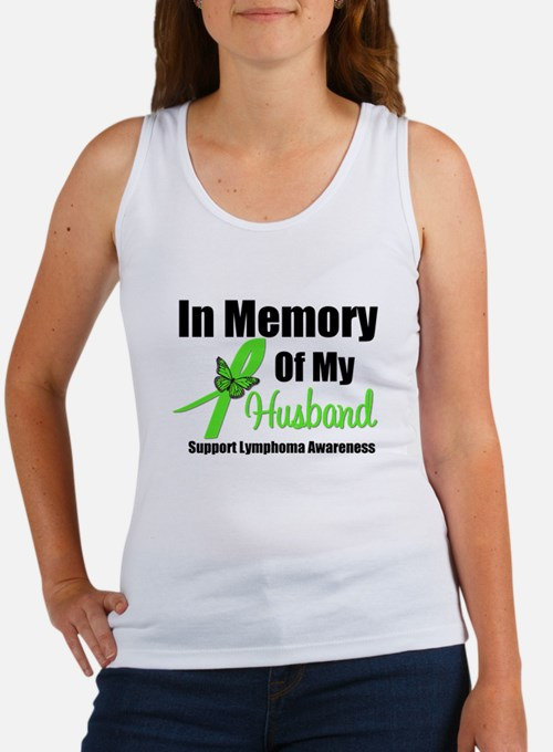 In Memory of My Husband Women's Tank Top