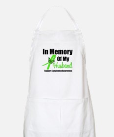 In Memory of My Husband BBQ Apron