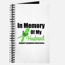 In Memory of My Husband Journal