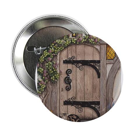 """English Tudor Door 2.25"""" Button"""