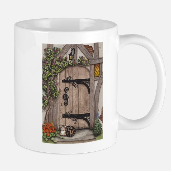 English Tudor Door Mug