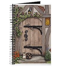 English Tudor Door Journal