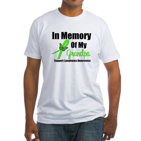 In Memory of My Grandpa Fitted T-Shirt