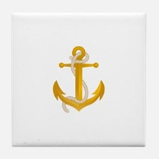 Unique Anchor Tile Coaster