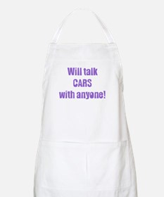 Will Talk Cars with Anyone BBQ Apron