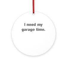 Garage Time Ornament (Round)
