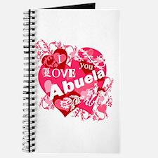 I Love Abuela Journal