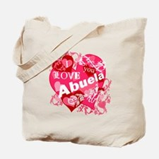 I Love Abuela Tote Bag