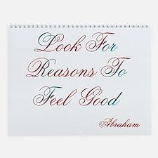 Look For Reasons Design #400 Wall Calendar