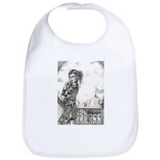 One Day in Zanth Black and Wh Bib