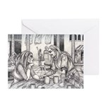 Lovers Greeting Cards (Pk of 10)