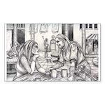 Lovers Rectangle Sticker 10 pk)