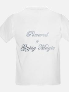 Powered by Gypsy Magic Kids T-Shirt
