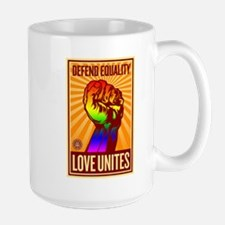 Defend Equality Large Mug