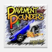 Pavement Pounders Tile Coaster
