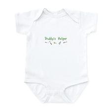 Daddy's Helper Infant Bodysuit (green)