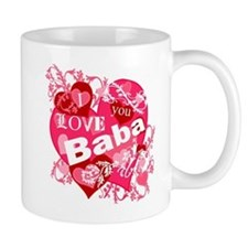 I Love You Baba Small Mug