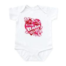 I Love You Baba Infant Bodysuit