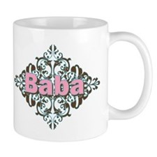 Grandma Baba Name Crest Small Mug